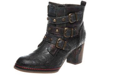 Mustang Shoes  Stiefeletten in Übergrößen Navy 1287-505-820 große Damenschuhe – Bild 1