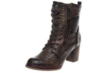 Mustang Shoes Stiefeletten in Übergrößen Mittelbraun 1287-506-360 große Damenschuhe – Bild 1