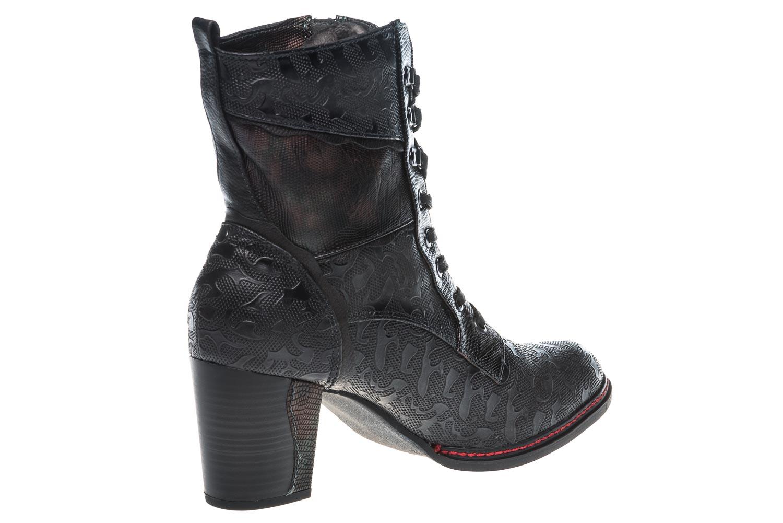 Mustang Shoes  Stiefeletten in Übergrößen Navy 1287-506-820 große Damenschuhe – Bild 4