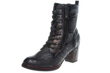 Mustang Shoes  Stiefeletten in Übergrößen Navy 1287-506-820 große Damenschuhe