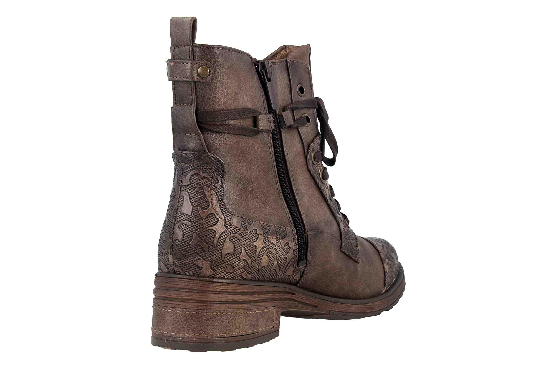 Mustang Shoes  Stiefeletten in Übergrößen Mittelbraun 1293-501-360 große Damenschuhe – Bild 3