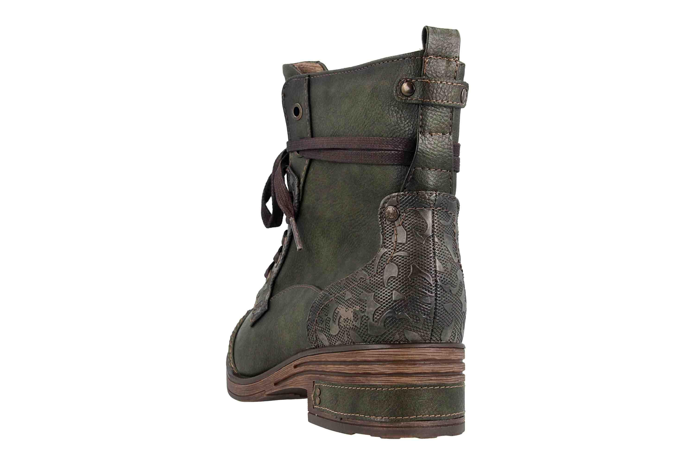 Mustang Shoes Stiefeletten in Übergrößen Oliv 1293-501-77 große Damenschuhe – Bild 2