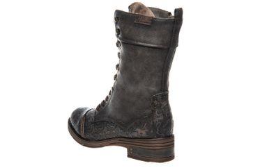 Mustang Shoes Stiefel in Übergrößen Dunkelgrau 1293-503-20 große Damenschuhe – Bild 2