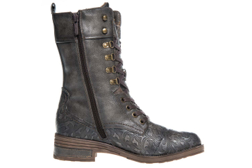 Mustang Shoes  Stiefel in Übergrößen Dunkelgrau 1293-503-20 große Damenschuhe – Bild 4