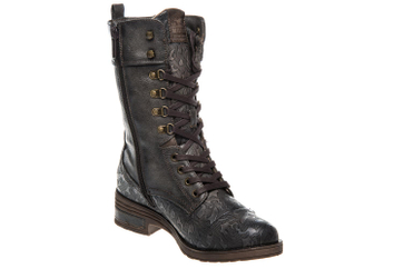 Mustang Shoes  Stiefel in Übergrößen Dunkelgrau 1293-503-20 große Damenschuhe – Bild 5