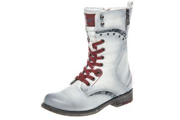 Mustang Shoes  Stiefeletten in Übergrößen Ice 1295-602-203 große Damenschuhe – Bild 1