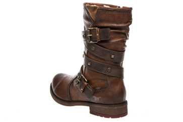Mustang Shoes Stiefel in Übergrößen Kastanie 1295-603-301 große Damenschuhe – Bild 2