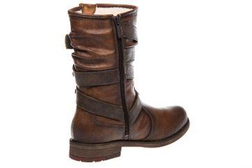 Mustang Shoes Stiefel in Übergrößen Kastanie 1295-603-301 große Damenschuhe – Bild 3