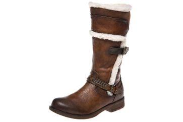Mustang Shoes  Stiefel in Übergrößen Kastanie 1295-605-301 große Damenschuhe – Bild 1
