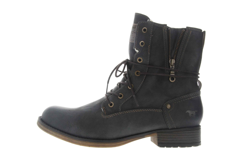 Mustang Shoes Boots in Übergrößen Graphit 1139-630-259 große Damenschuhe – Bild 1