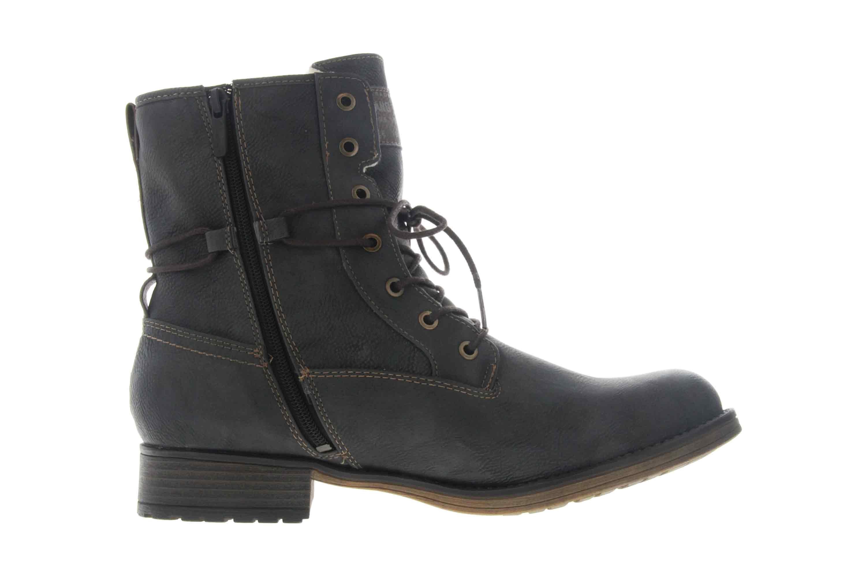 Mustang Shoes Boots in Übergrößen Graphit 1139-630-259 große Damenschuhe – Bild 4