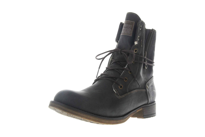 Mustang Shoes Boots in Übergrößen Graphit 1139-630-259 große Damenschuhe – Bild 6