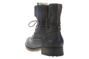 Mustang Shoes Boots in Übergrößen Graphit 1139-630-259 große Damenschuhe – Bild 2