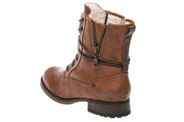 Mustang Shoes  Boots in Übergrößen Kastanie 1139-630-301 große Damenschuhe – Bild 2