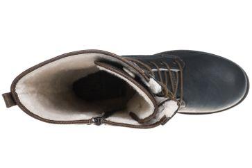 Mustang Shoes  Boots in Übergrößen Rauchblau 1139-633-259 große Damenschuhe – Bild 8