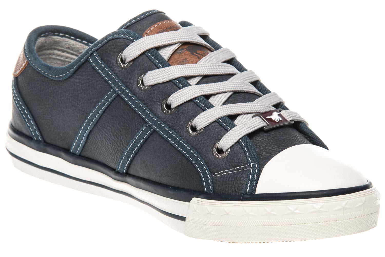 Mustang Shoes Sneaker in Übergrößen Dunkelblau 1209-301-800 große Damenschuhe – Bild 5