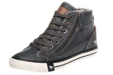 Mustang Shoes High Top Sneaker in Übergrößen Graphit 1209-601-259 große Damenschuhe – Bild 1