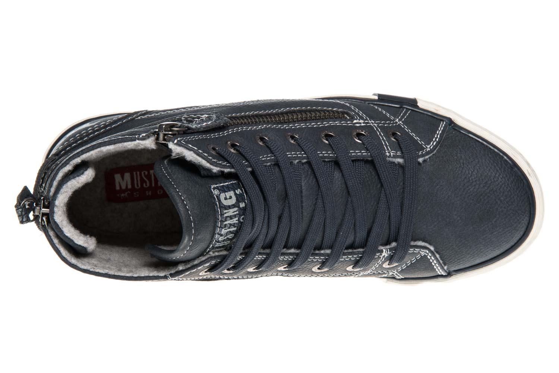 Mustang Shoes  High Top Sneaker in Übergrößen Navy 1209-601-820 große Damenschuhe – Bild 7