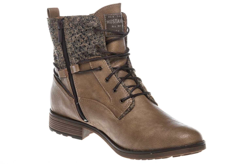 Mustang Shoes  Boots in Übergrößen Taupe 1265-504-318 große Damenschuhe – Bild 6