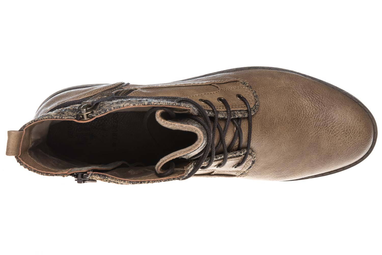 Mustang Shoes Boots in Übergrößen Taupe 1265-504-318 große Damenschuhe – Bild 8