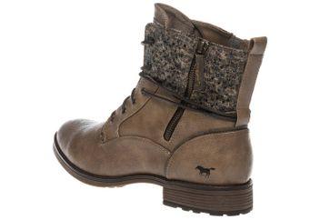 Mustang Shoes  Boots in Übergrößen Taupe 1265-504-318 große Damenschuhe – Bild 3