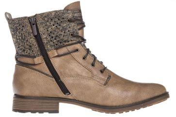Mustang Shoes  Boots in Übergrößen Taupe 1265-504-318 große Damenschuhe – Bild 5