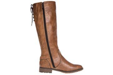 Mustang Shoes  Stiefel in Übergrößen Kastanie 1265-510-301 große Damenschuhe – Bild 4