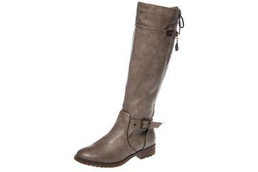 Mustang Shoes Stiefel in Übergrößen Taupe 1265-510-318 große Damenschuhe – Bild 1