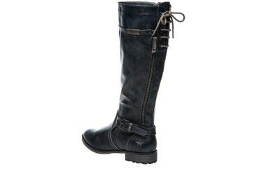 Mustang Shoes  Stiefel in Übergrößen Navy 1265-510-820 große Damenschuhe – Bild 2