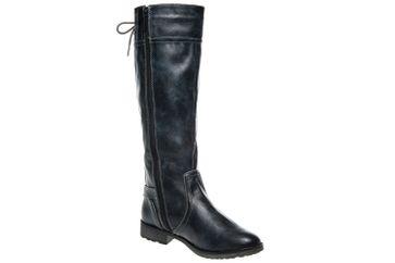 Mustang Shoes Stiefel in Übergrößen Navy 1265-510-820 große Damenschuhe – Bild 5