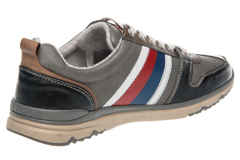 Mustang Shoes Halbschuhe in Übergrößen Grau 4095-302-2 große Herrenschuhe – Bild 3