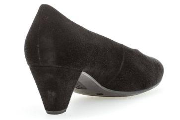 Gabor Fashion Pumps in Übergrößen Schwarz 91.100.17 große Damenschuhe – Bild 3