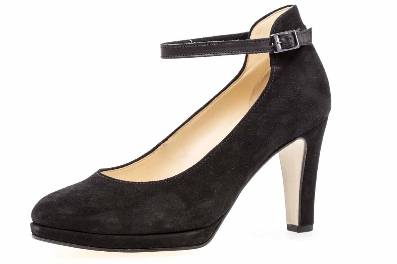 Gabor Fashion Pumps in Übergrößen Schwarz 91.271.17 große Damenschuhe – Bild 1