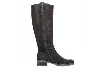 Gabor Fashion Stiefel in Übergrößen Schwarz 91.616.17 große Damenschuhe – Bild 5