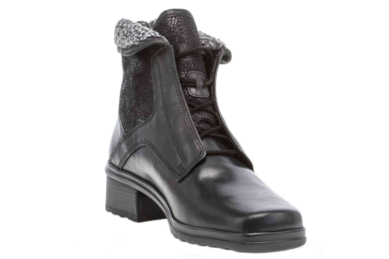 Gabor Comfort Basic Stiefeletten in Übergrößen Schwarz 96.705.57 große Damenschuhe – Bild 5