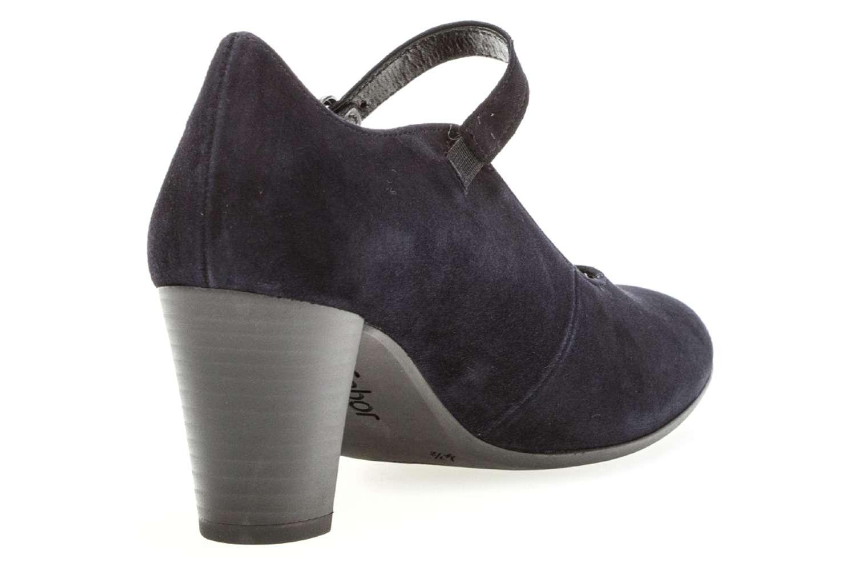 Gabor Comfort Fashion Pumps in Übergrößen Blau 92.167.86 große Damenschuhe – Bild 3