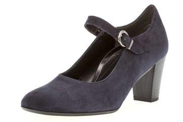 Gabor Comfort Fashion Pumps in Übergrößen Blau 92.167.86 große Damenschuhe – Bild 1