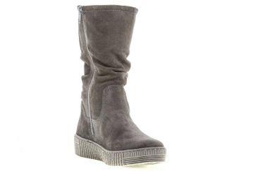 Gabor Jollys Stiefel in Übergrößen Grau 93.736.19 große Damenschuhe – Bild 5