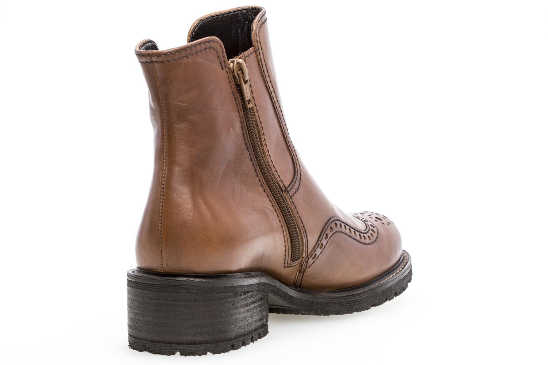 Gabor Comfort Basic Stiefeletten in Übergrößen Braun 96.091.52 große Damenschuhe – Bild 3