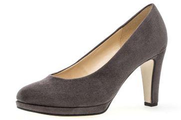 Gabor Fashion Pumps in Übergrößen Grau 91.270.49 große Damenschuhe