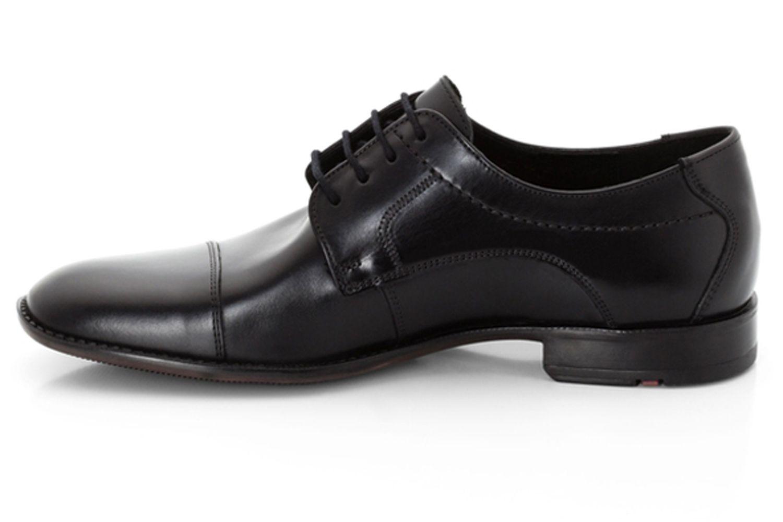 LLOYD Galant Business-Schuhe in Übergrößen Schwarz 13-053-00 große Herrenschuhe – Bild 2