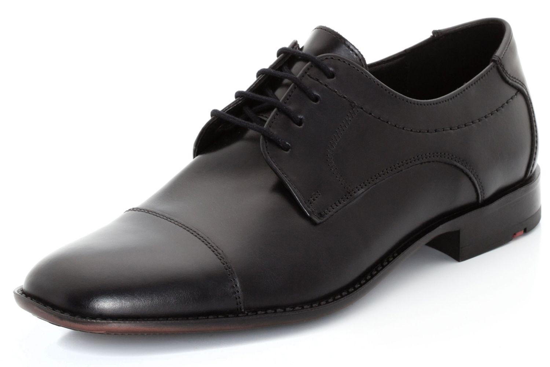 LLOYD KOLOR Business-Schuhe in Übergrößen Schwarz 13-053-00 große Herrenschuhe – Bild 1