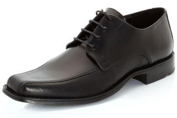 LLOYD Dagget Business-Schuhe in Übergrößen Schwarz 15-112-10 große Herrenschuhe – Bild 1