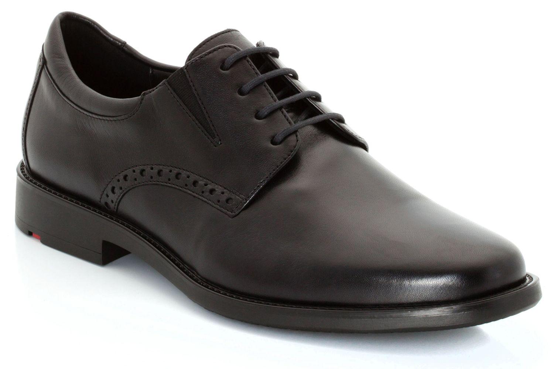 LLOYD KOLOR Business-Schuhe in Übergrößen Schwarz 26-869-00 große Herrenschuhe – Bild 4