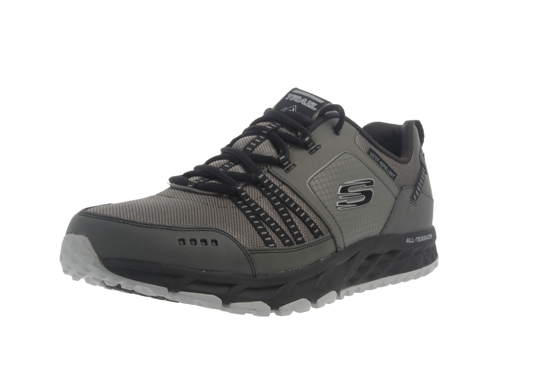 Skechers ESCAPE PLAN Sneaker in Übergrößen Grau 51591 CCBK große Herrenschuhe – Bild 6