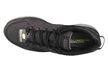 Skechers BOWERZ Sneaker in Übergrößen Schwarz 51861 BKCC große Herrenschuhe – Bild 7