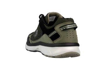 Skechers BOWERZ Sneaker in Übergrößen Grün 51861 OLBK große Herrenschuhe – Bild 2