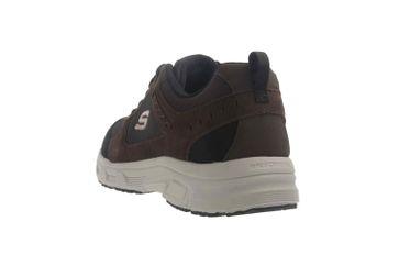 Skechers OAK CANYON Sneaker in Übergrößen Braun 51893 CHBK große Herrenschuhe – Bild 2