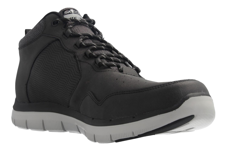 Skechers FLEX ADVANTAGE 2.0 Sneaker in Übergrößen Schwarz 52187 BLK große Herrenschuhe – Bild 5