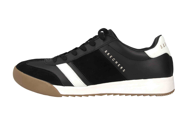 ef74a95863dd Skechers ZINGER SCOBIE Sneaker in Übergrößen Schwarz 52322 BKW große  Herrenschuhe ...